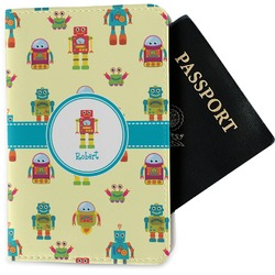 Robot Passport Holder - Fabric (Personalized)