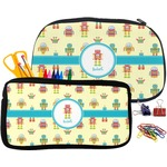 Robot Pencil / School Supplies Bag (Personalized)