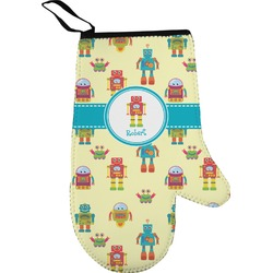Robot Oven Mitt (Personalized)