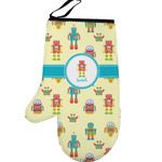 Robot Left Oven Mitt (Personalized)