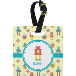 Robot Luggage Tags (Personalized)