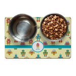 Robot Dog Food Mat (Personalized)