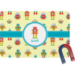 Robot Rectangular Fridge Magnet (Personalized)