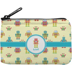 Robot Rectangular Coin Purse (Personalized)