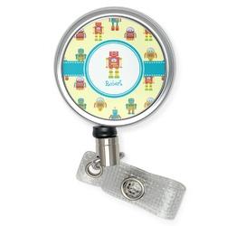 Robot Retractable Badge Reel (Personalized)