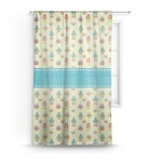 Robot Sheer Curtains (Personalized)