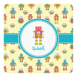 Robot Square Wall Decal (Personalized)