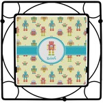 Robot Square Trivet (Personalized)