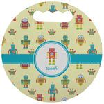 Robot Stadium Cushion (Round) (Personalized)