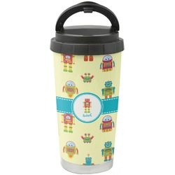 Robot Stainless Steel Coffee Tumbler (Personalized)