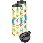 Robot Stainless Steel Skinny Tumbler (Personalized)