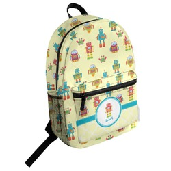 Robot Student Backpack (Personalized)