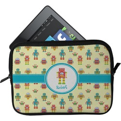 Robot Tablet Case / Sleeve - Small (Personalized)