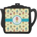 Robot Teapot Trivet (Personalized)