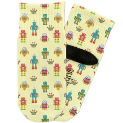 Robot Toddler Ankle Socks (Personalized)