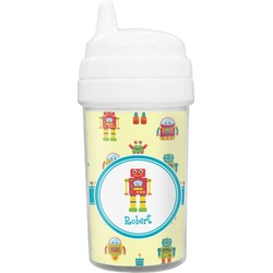 Robot Toddler Sippy Cup (Personalized)