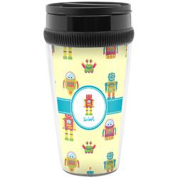 Robot Travel Mugs (Personalized)