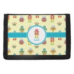 Robot Trifold Wallet (Personalized)
