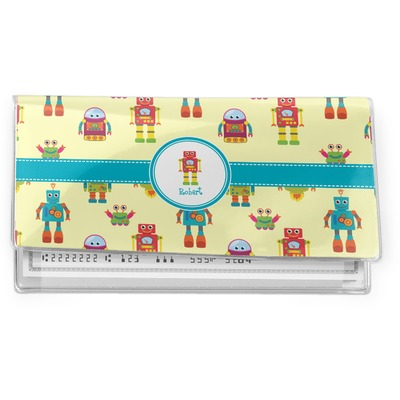 Robot Vinyl Checkbook Cover (Personalized)
