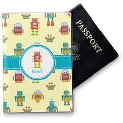 Robot Vinyl Passport Holder (Personalized)