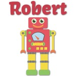 Robot Graphic Decal - Custom Sized (Personalized)