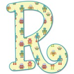 Robot Letter Decal - Custom Sized (Personalized)