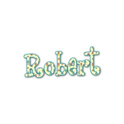Robot Name/Text Decal - Custom Sizes (Personalized)