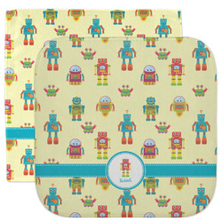 Robot Facecloth / Wash Cloth (Personalized)