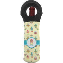 Robot Wine Tote Bag (Personalized)