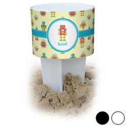 Robot Beach Spiker Drink Holder (Personalized)