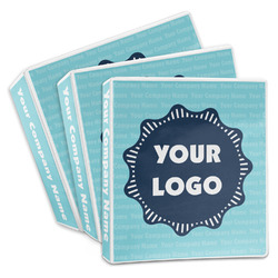 Logo & Company Name 3-Ring Binder (Personalized)