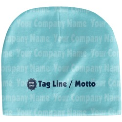Logo & Company Name Baby Hat (Beanie) (Personalized)