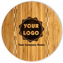 Logo & Company Name Bamboo Cutting Board