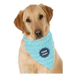 Logo & Company Name Pet Bandanas (Personalized)