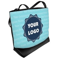 Logo & Company Name Beach Tote Bag (Personalized)