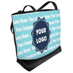 Logo & Company Name Beach Tote Bag (Personalized)