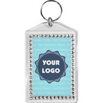 Logo & Company Name Bling Keychain (Personalized)