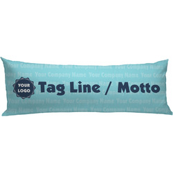 Logo & Company Name Body Pillow Case (Personalized)