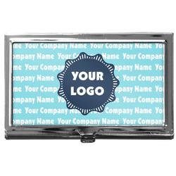 Logo & Company Name Business Card Holder