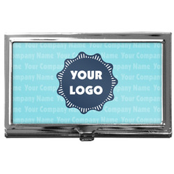 Logo & Company Name Business Card Case