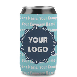 Logo & Company Name Can Sleeve (12 oz) (Personalized)