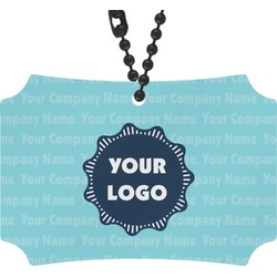 Logo & Company Name Rear View Mirror Ornament (Personalized)
