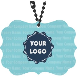 Logo & Company Name Rear View Mirror Decor (Personalized)