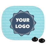 Logo & Company Name Car Side Window Sun Shade (Personalized)