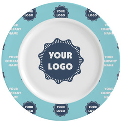 Logo & Company Name Ceramic Dinner Plates (Set of 4) (Personalized)