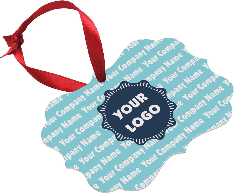 Logo & Company Name Ornament (Personalized) - YouCustomizeIt
