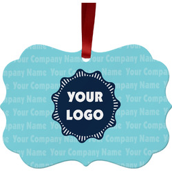 Logo & Company Name Ornament (Personalized)
