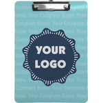 Logo & Company Name Clipboard (Personalized)