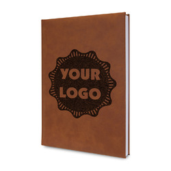 Logo & Company Name Leatherette Journal (Personalized)