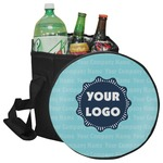 Logo & Company Name Collapsible Cooler & Seat (Personalized)